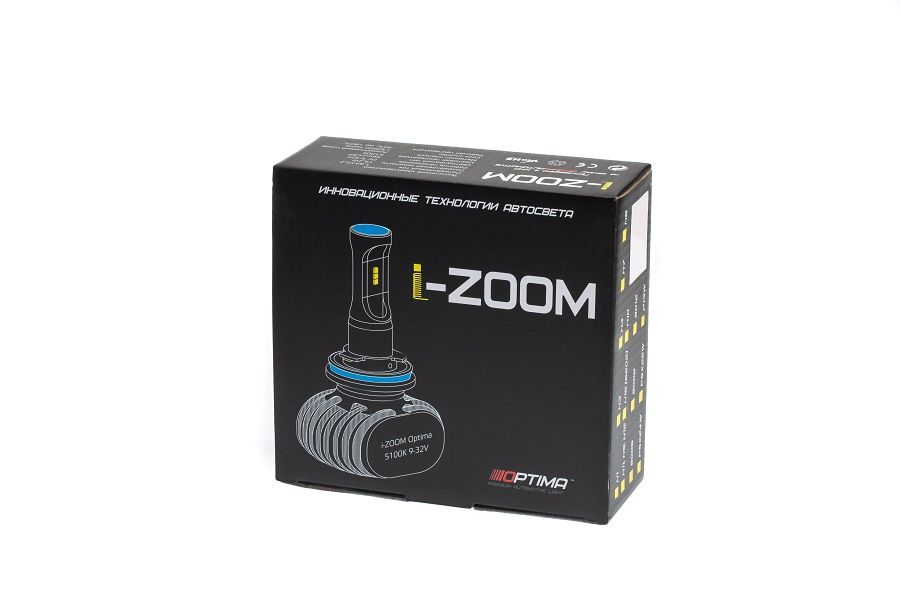 Optima LED i-Zoom HB4 / 9006, 9-32V (2шт)