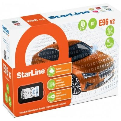 StarLine E96 V2 BT 2CAN+4LIN GSM/GPS