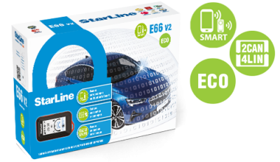 StarLine E66 V2 BT 2CAN 4LIN ECO